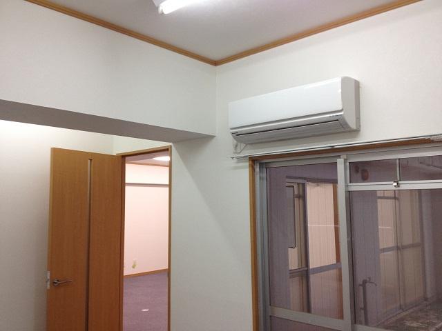 小部屋エアコン