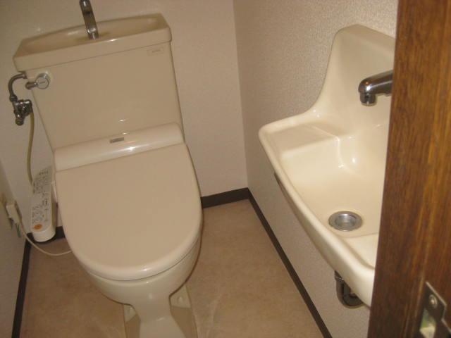 トイレと手洗い