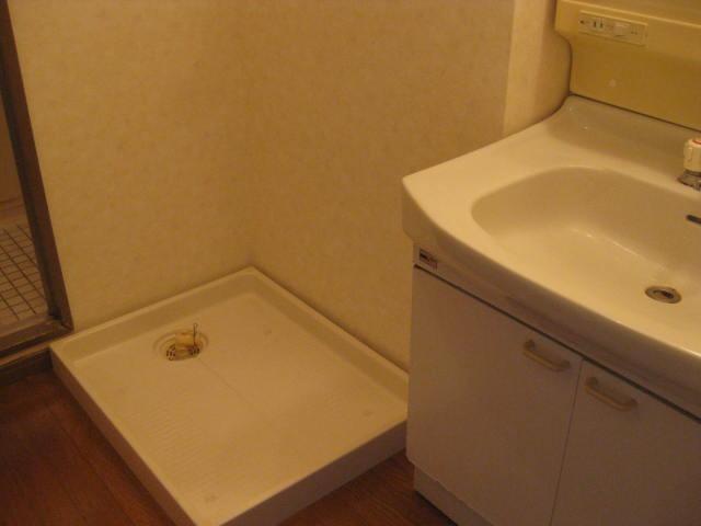 室内洗濯機パン