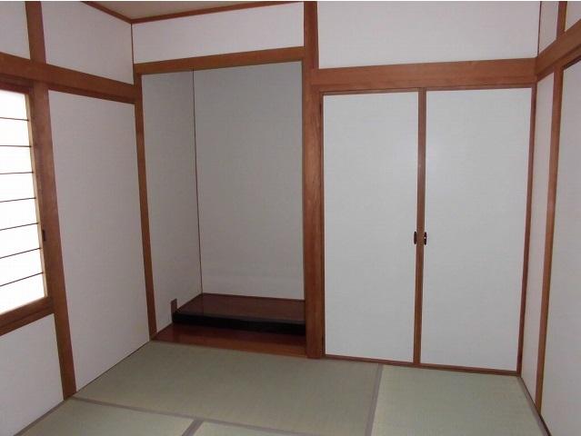 和室床の間