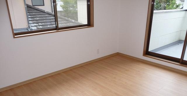 2階洋室ベランダ